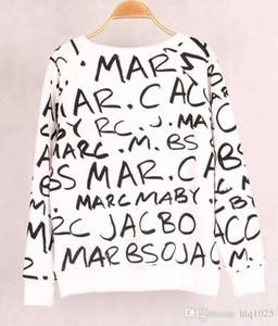 2016 nuovo autunno donne lettere stampato felpa con cappuccio tute tute manica lunga tuta supera il trasporto libero