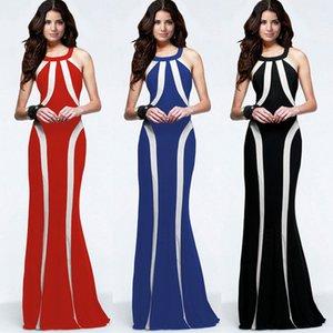 2016 Европейский внешней торговли новый шаблон вечерние платья Холтер самосовершенствование правописание цвет Zuhair Murad платье Longuette платья