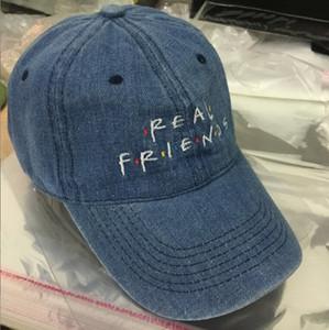 2016 NUEVOS amigos reales 6 panel cap Denim sombrero tendencias raro 2016 sombrero de otoño Me siento como Pablo Kanye sombrero famoso sombrero tumblr snapback gorra de béisbol
