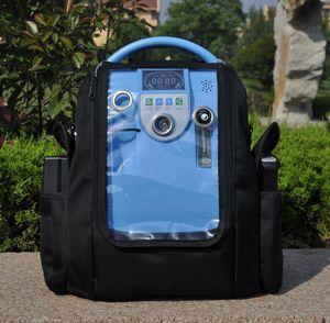 COPD 용 2 개의 배터리와 결합 된 Lovego G1 의료 휴대용 산소 집중 장치