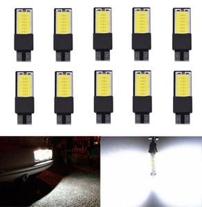 Paquet de 10 ampoules d'intérieur Canbus T10 LED COB 194 168 W5W parking latéral, plaque de brouillard auxiliaire, feux de freinage, licence Auto No Error lumière de voiture COB 12V
