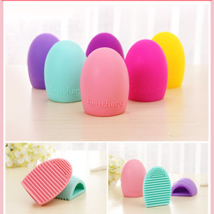 Brushegg Clean brushes Makeup Wash Brush Silica Glove Scrubber Board Cosmetic Cleaning Tools Made beauty for makeup brushes