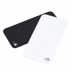 Weiß / Schwarz Batterieabdeckung Glas Rückseite Rückseite Fall Tür CDMA GSM BLACK + Pentalobe Schraubendreher für iPhone 4S 4G 4 iPhone4S iPhone4