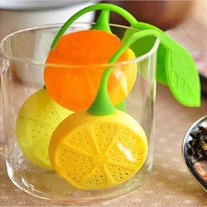 Venta al por mayor 2016 nueva venta caliente silicona bolsita de té infuser tetera de la taza de té del filtro colador bolsa de limón