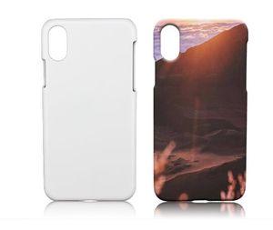 Для iPhone 12 11 Pro XS Max мини XR X 6 6S 7 8 Plus настроена печать DIY Blank 3D сублимации глянцевая и матовая пластиковая крышка