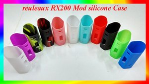 Wismec reuleaux RX200 Mod silicone Case RX200 sleeve protective Rubber Sleeve for RX200 VS snow wolf smok xcube ii tugboat Free Shipping