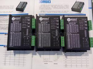 무료 전체 3PCS에 대 한 많은 새로운 Leadshine 2 단계 마이크로 스테핑 스테퍼 드라이브 M542-05 작업 전압 24-50 아웃 현재 1.2A-5.0A