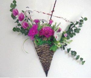 Оптовая 2016 новый многоцветный нейлон цветок чулок аксессуары ronde цветы нейлон декоративные цветы