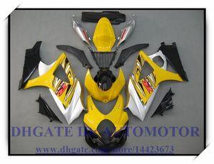 Einspritzung 100% nagelneuer Verkleidungssatz passend für SUZUKI GSXR1000 07 08 Suzuki GSX-R1000 2007 2008 GSXR1000 2007 2008 # 9TQ92 GELB