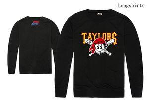 Novos homens TAYLOR GANG T-shirt Camo HIP HOP Roupas Moda manga longa Em Torno Do Pescoço Marca Casual tee top quality frete grátis