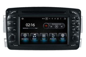 Android10.0 PX5 OCTA NÚCLEO 64G ROM 7 Rádio FM GPS / A W16 / G W463 / Viano / Vito / Vaneo Wifi Inch DVD do carro para Mercedes Benz CLK CW209 / C W203