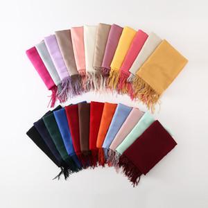 Sciarpa della coppia di cachemire della pelle di pecora, 2017 2017 di alta qualità di vendita a caldo liscio caldo verticale verticale Scialle di cotone cashmere Sciarpa Sciarpa all'ingrosso