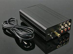 Freeshipping Novo Urso T8 Turntable MM MC Phono RIAA pré amplificador Hifi Estéreo Pré-AMP DIY Phono Amplificador