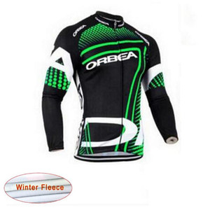 2017 Pro Breathable Cycling Thermal Fleece jersey MTB Bike Clothing Long Sleeve Bicycle Maillot Ciclismo Sportwear