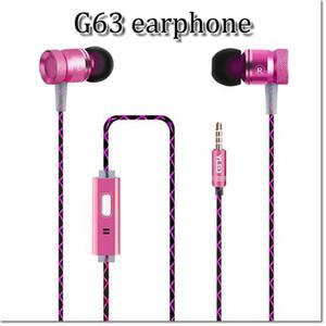 3,5-mm-Stereo-Sport-Hifi-Ohrhörer mit eingebautem Mikrofon für den High-Fidelity-Musikplayer für Smartphones, DHL-frei