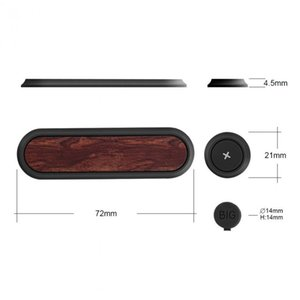 Bcase TUP 2 Magnetkabelklemme Magnetometerprospektion Kabelklemme mit 3pcs Toggle-Clip USB-Ladegerät Linie Halter Startseite Auto Kabelaufwicklung