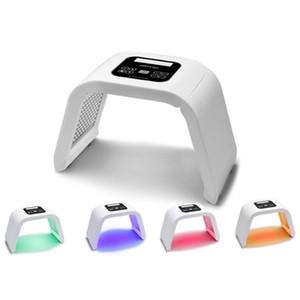 DHL Livraison Gratuite 4 Couleurs Luminothérapie Photon LED Rajeunissement De La Peau PDT Peau Beauté Machine Masque Facial Traitement De L'acné Anti-Vieillissement