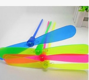 Led Flying Lights Toys Luminous Bamboo Dragonfly Flash helicóptero para regalo de los niños New Childhood Classic Toy