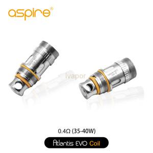 100% Original Aspire Atlantis EVO bobina. 4 ohm atlantis evo bobina bvc. 5 ohm para aspirar atlantis evo sub ohm tanque