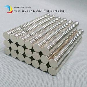 1 팩 N35 NdFeB 자석 디스크 직경 10x3 mm 약 0.39 ''강력한 네오디뮴 자석 희토류 자석 영구 자석