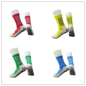 Anti-Slip traspirante estate degli uomini di corsa cotone e gomma calzini da calcio calze di qualità ciclismo femminile calze asciugamano Azioni medie inferiori