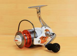 FTC3000-7000 pesca pesca spinning ruota 12 + 1BB colore bianco liscio tazza di filo metallico pieghevole spinning bobine di pesca accessori