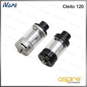 Aspire Cleito 120 Réservoir 100% d'origine 4 ml Aspire Cleito 120 atomiseur avec bobine de rechange Cleito 120 0.16ohm