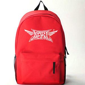 Babymetal backpack Red black daypack Anime baby metal schoolbag New cartoon rucksack Sport school bag Outdoor day pack