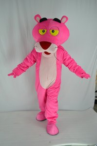 Brand New Custume fait mascotte taille adulte pantalon rose mascotte panthère rose