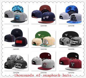 Nouvelle Arrivée Snapbacks Chapeaux Casquette Cayler Sons Snap back Baseball Casual Casquettes Chapeau Taille ajustable Haute Qualité drop shipping