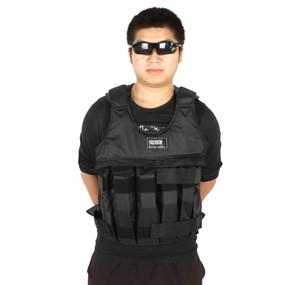 Hot Gym Exercise Réglable Body Building Poids Vest Fitness Boxe Physique Unisexe Formation En Plein Air Veste Solide