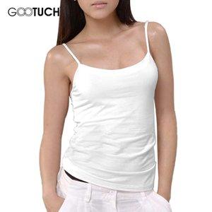 Toptan-Kadın Kombinezonlar Üst Yelek Saf Renk Bodysuit Spagetti Sıkı Sevimli Tekli Beyaz Pembe Gri Tekli Gootuch 2454