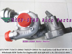 GT1749V 713672-5006S 768329-5001S 454232-0001 713672 Turbo Turbocompresseur Pour VW Jetta Golf Beetl Moteur AHF ALH AUY 1.9LTDI