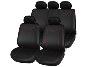 Universal Low-back Car Seat Cover Set Four Seasons Auto Car Cushion with 2mm Thick Sponge in Middle Comfortable Durable to Use