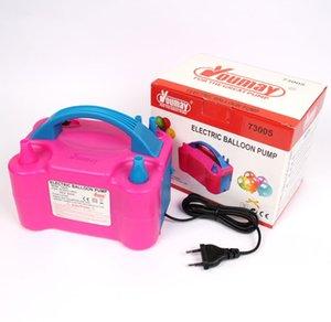 Ventilateur portatif de pompe électrique de gonfleur de ballon électrique de pompe électrique gonflable à double trou à CA de trou à haute tension