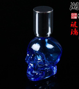 Crystal Skull portable alcohol lamp - glass pipe pipe hookah Glass gong - oil rigs bong in vetro vetro pipa da fumo - vaporizza-