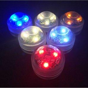 Super luminoso 3LED luce sommergibile LED Floralyte luce LED impermeabile a lume di candela Mini luce del partito per eventi festa di nozze Decorazione