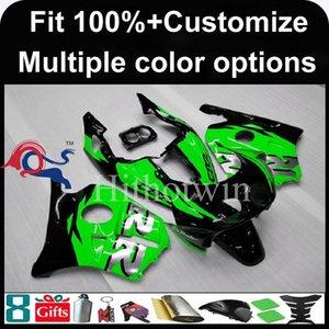 23colors + 8Gifts Injecção molde capuz motocicleta verde para Honda CBR250RR MC22 1990-1999 CBR250RR MC22 90 99 ABS carenagem plástico