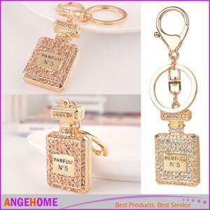3 Couleur Bouteille De Parfum De Luxe Porte-clés Porte-clés Porte-clés Porte-clés De Voiture Porte clef Cadeau Femmes Souvenirs Sac Pendentif