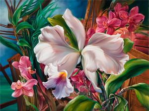5D Алмаз вышивка рукоделие diy Алмаз живопись вышивки крестом наборы цветок красочные розы полный круглый бриллиант мозаика Декор комнаты yx1054