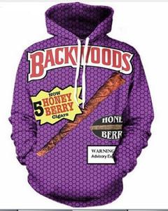 Neue Mode Cool Sweatshirt Hoodies Männer Frauen 3D-Druck BACKWOODS Mode heißen Stil Streetwear Langarm Kleidung XKLMS09