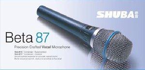 3pcs versione superiore di trasporto libero originale SHUBA Beta87A rete microfono per computer cablata strumento canzone K registrazione vocale microfono