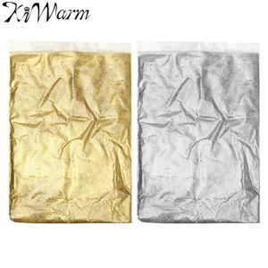 KiWarm 100g Gold Silber Ultra Fein Glitter Staub Pulver Keramik Papier Kunsthandwerk DIY Handwerk Material Liefert
