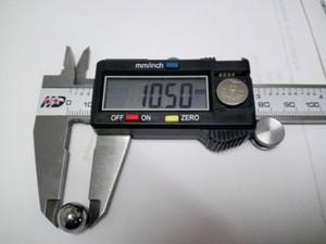 Diámetro de bola de acero de bola de acero del rodamiento de bolitas de acero de 10.5mm 10.5mm 10pcs / set precisión: G10-grado