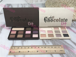 White Chocolate Chip trucco dell'ombra di occhio Troppo opaca con gocce di cioccolato gamma di colori dell'ombretto 11 colori dell'ombretto di trucco viso con l'odore del cioccolato