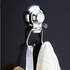 1pc 304 Acero inoxidable de acero inoxidable Succionario de plástico Baño de la cocina Pared fuerte Ventosa de succión Hojas de gancho Decoración para el hogar Accesorios