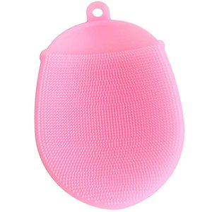 Bath Brushes Washing Hair Massage glove Brush Comb Scalp Shower Body cleaning Scrub Skin Back Head Silicone balls for adult baby