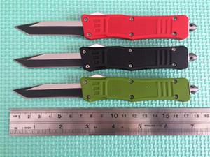 Лучший кемпинг оригинальный EGDE Одно ножи Blade Blade Fine 616 Mic-Tech Scarab Охота, охота на Tanto Collection Нож Новый по цене! Коробка dqfwn.