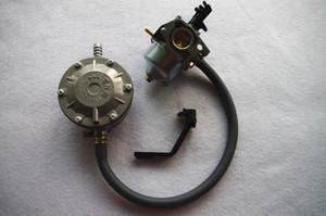 Сжиженный нефтяной газ Бензин комплект для переоборудования двойного топлива для Хонда GX160 168F 2500 2KW Генератор бензиновый liquefield нефте 2,5 3 кВт генераторной