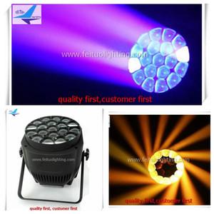 4 teile / los mit flightcase rgbw 19x15 zoom bee eye par 64 led kann licht für disco nacht bühne